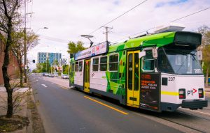 TRAMS ON THE DOORSTEP