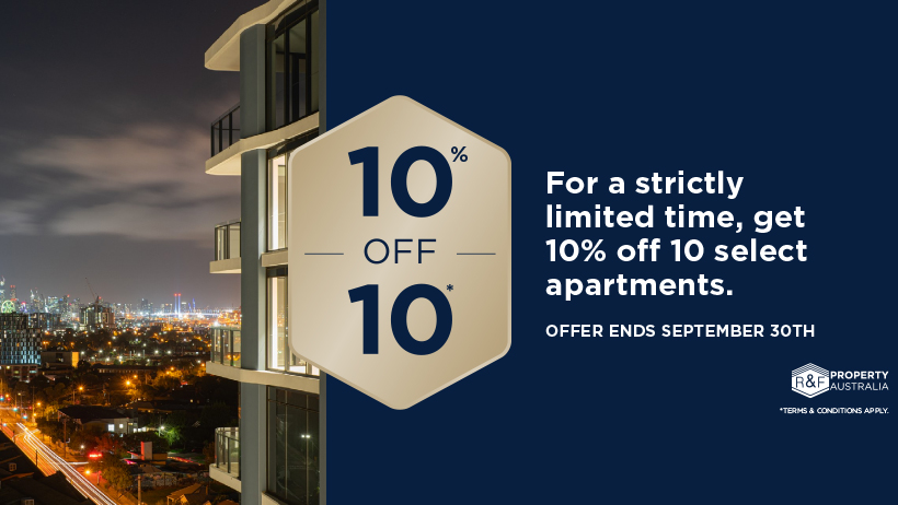 10% off 10 apartments_Live City